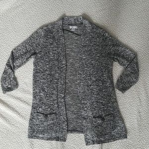 Croft & Barrow gray knit cardigan